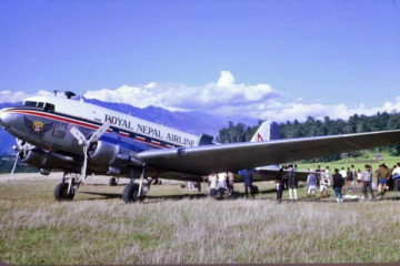 नेपाली आकाशका हवाईजहाज: संक्षिप्त इतिहास
