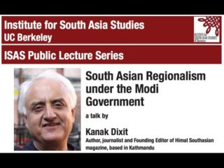 Kanak Mani Dixit | South Asian Regionalism under the Modi Government